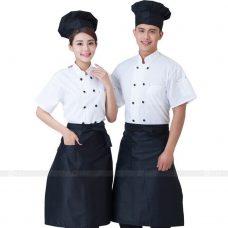 Dong Phuc Dau Bep DBA282 may đồng phục bếp