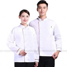 Dong Phuc Dau Bep DBA287 may đồng phục bếp