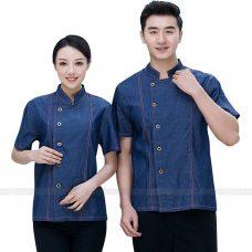 Dong Phuc Dau Bep DBA288 may đồng phục bếp