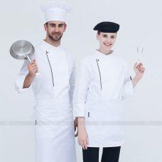 Dong Phuc Dau Bep DBA298 may đồng phục bếp