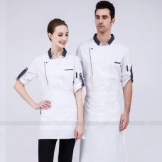 Dong Phuc Dau Bep DBA299 may đồng phục bếp