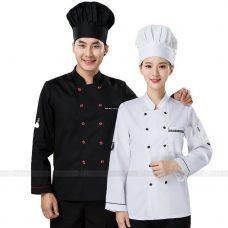 Dong Phuc Dau Bep DBA312 may đồng phục bếp