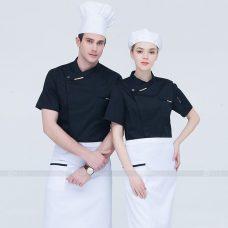 Dong Phuc Dau Bep DBA319 may đồng phục bếp