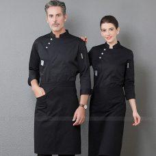 Dong Phuc Dau Bep DBA344 may đồng phục bếp