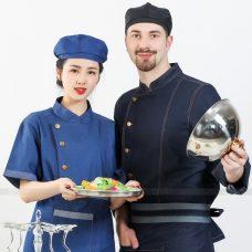 Dong Phuc Dau Bep DBA356 may đồng phục bếp