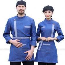 Dong Phuc Dau Bep DBA360 may đồng phục bếp