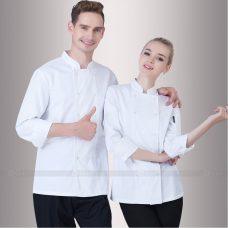 Dong Phuc Dau Bep DBA365 may đồng phục bếp