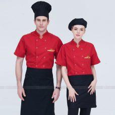 Dong Phuc Dau Bep DBA371 may đồng phục bếp