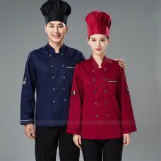 Dong Phuc Dau Bep DBA378 may đồng phục bếp