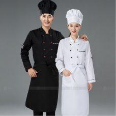 Dong Phuc Dau Bep DBA379 may đồng phục bếp