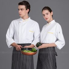 Dong Phuc Dau Bep DBA380 may đồng phục bếp