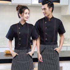 Dong Phuc Dau Bep DBA385 may đồng phục bếp