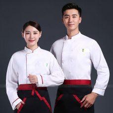 Dong Phuc Dau Bep DBA388 may đồng phục bếp