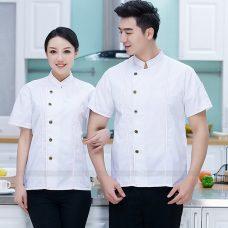 Dong Phuc Dau Bep DBA389 may đồng phục bếp