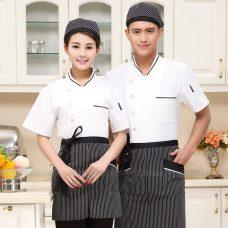 Dong Phuc Dau Bep DBA390 may đồng phục bếp