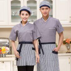 Dong Phuc Dau Bep DBA391 may đồng phục bếp