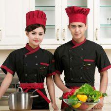 Dong Phuc Dau Bep DBA393 may đồng phục bếp