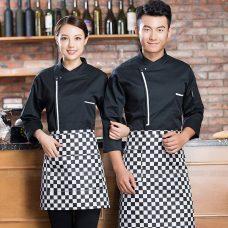 Dong Phuc Dau Bep DBA394 may đồng phục bếp