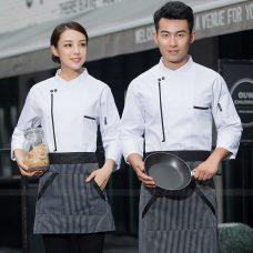 Dong Phuc Dau Bep DBA395 may đồng phục bếp