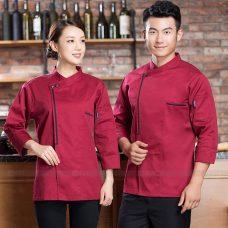 Dong Phuc Dau Bep DBA396 may đồng phục bếp