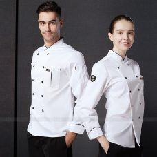 Dong Phuc Dau Bep DBA400 may đồng phục bếp