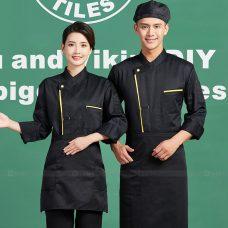 Dong Phuc Dau Bep DBA401 may đồng phục bếp