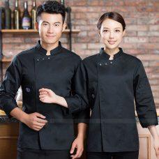 Dong Phuc Dau Bep DBA403 may đồng phục bếp