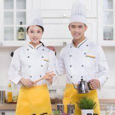 Dong Phuc Dau Bep DBA405 may đồng phục bếp