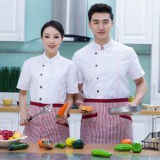 Dong Phuc Dau Bep DBA406 may đồng phục bếp
