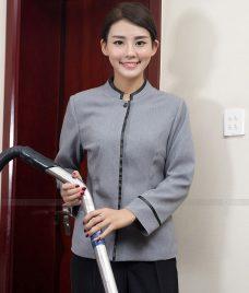 Dong phuc tap vu GLU TV35 đồng phục nhân viên buồng phòng