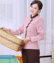 Dong phuc tap vu GLU TV36 đồng phục nhân viên buồng phòng