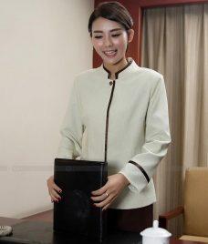 Dong phuc tap vu GLU TV37 đồng phục nhân viên buồng phòng