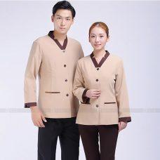 Dong phuc tap vu GLU TV77 Đồng Phục Nhà Hàng