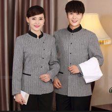 Dong phuc tap vu GLU TV79 Đồng Phục Nhà Hàng