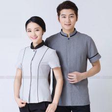 Dong phuc tap vu GLU TV83 Đồng Phục Nhà Hàng