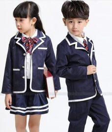 GLU Dong Phuc Mam Non MN106 áo sơ mi đồng phục