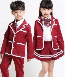 GLU Dong Phuc Mam Non MN107 áo sơ mi đồng phục