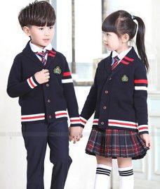 GLU Dong Phuc Mam Non MN109 áo sơ mi đồng phục