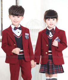 GLU Dong Phuc Mam Non MN110 áo sơ mi đồng phục