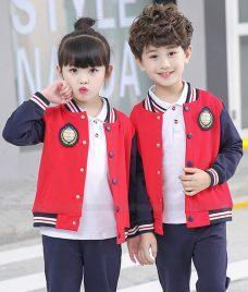 GLU Dong Phuc Mam Non MN129 may áo sơ mi
