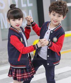 GLU Dong Phuc Mam Non MN130 may áo sơ mi