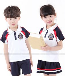 GLU Dong Phuc Mam Non MN35 Đồng Phục Mầm Non