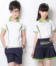 GLU Dong Phuc Mam Non MN41 áo thun đồng phục