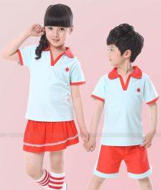 GLU Dong Phuc Mam Non MN43 áo thun đồng phục