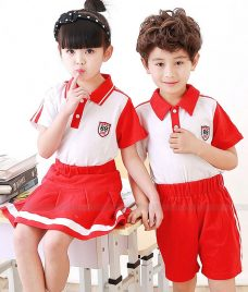 GLU Dong Phuc Mam Non MN44 áo thun đồng phục