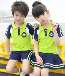 GLU Dong Phuc Mam Non MN46 áo thun đồng phục