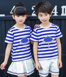 GLU Dong Phuc Mam Non MN47 áo thun đồng phục