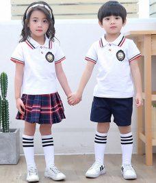 GLU Dong Phuc Mam Non MN49 áo thun đồng phục