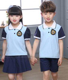 GLU Dong Phuc Mam Non MN50 áo thun đồng phục