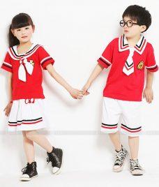 GLU Dong Phuc Mam Non MN52 áo thun đồng phục